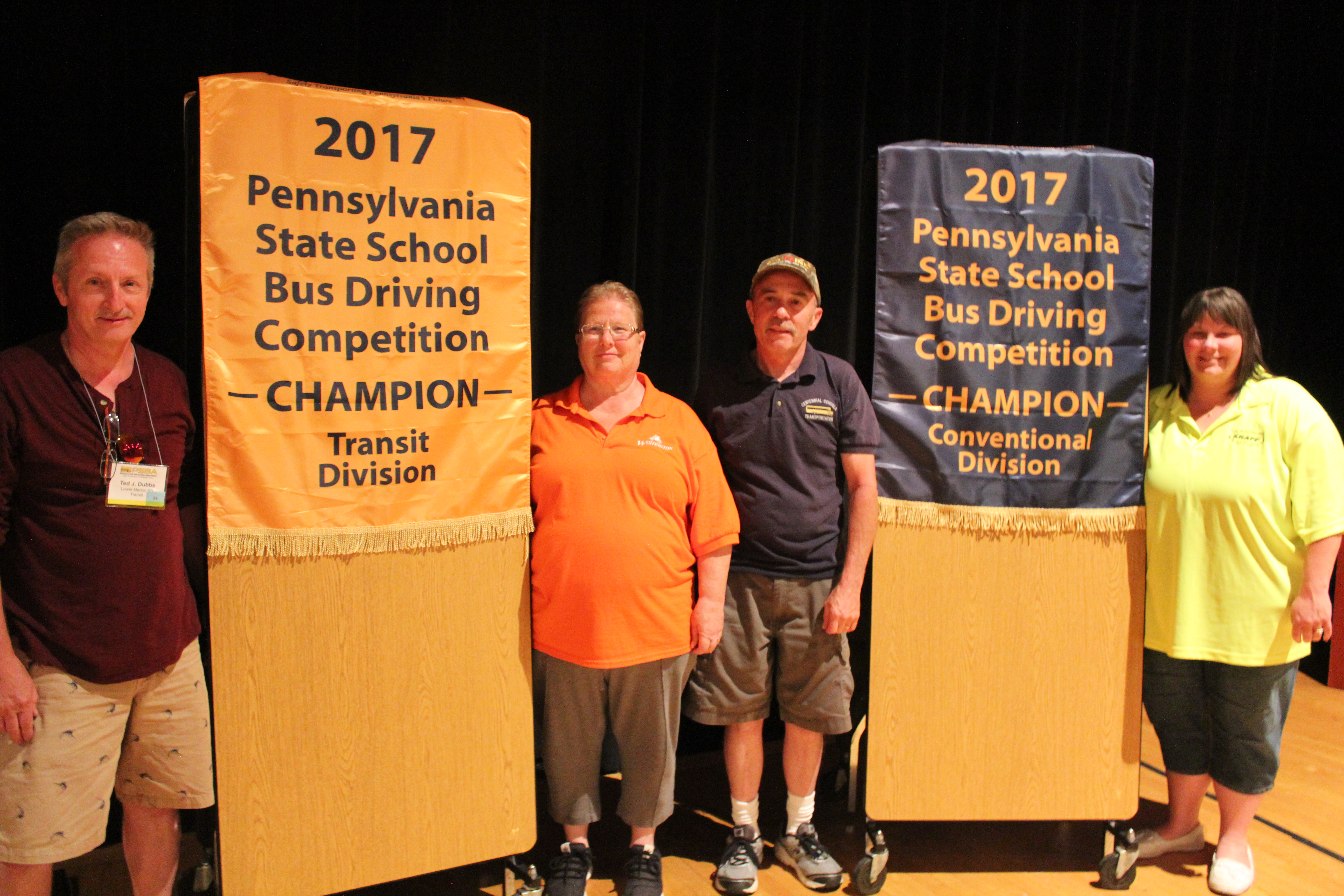 2017 PENNSYLVANIA SCHOOL BUS DRIVER SAFETY COMPETITION RESULTS; STATE'S DRIVERS FINISH IN TOP 10 AT INTERNATIONAL COMPETITION
